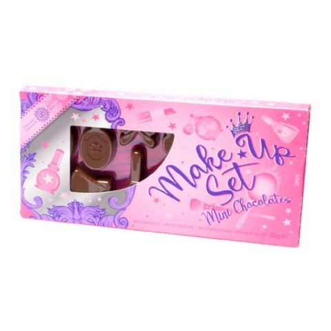 Make Up Set Novelty Mini Milk Chocolates Steenland 90g